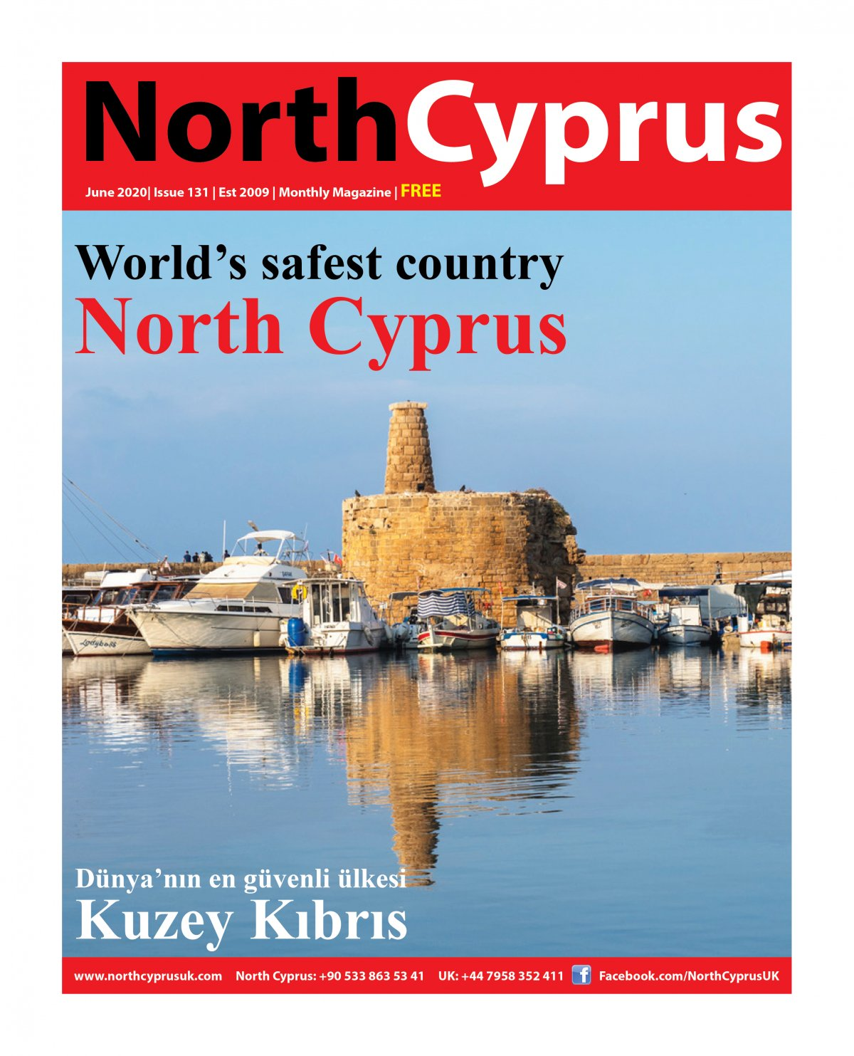 North Cyprus UK - 10.06.2020 Manşeti