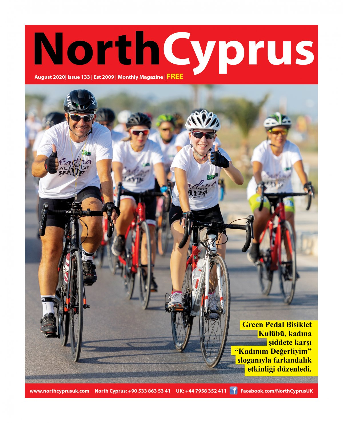 North Cyprus UK - 13.08.2020 Manşeti