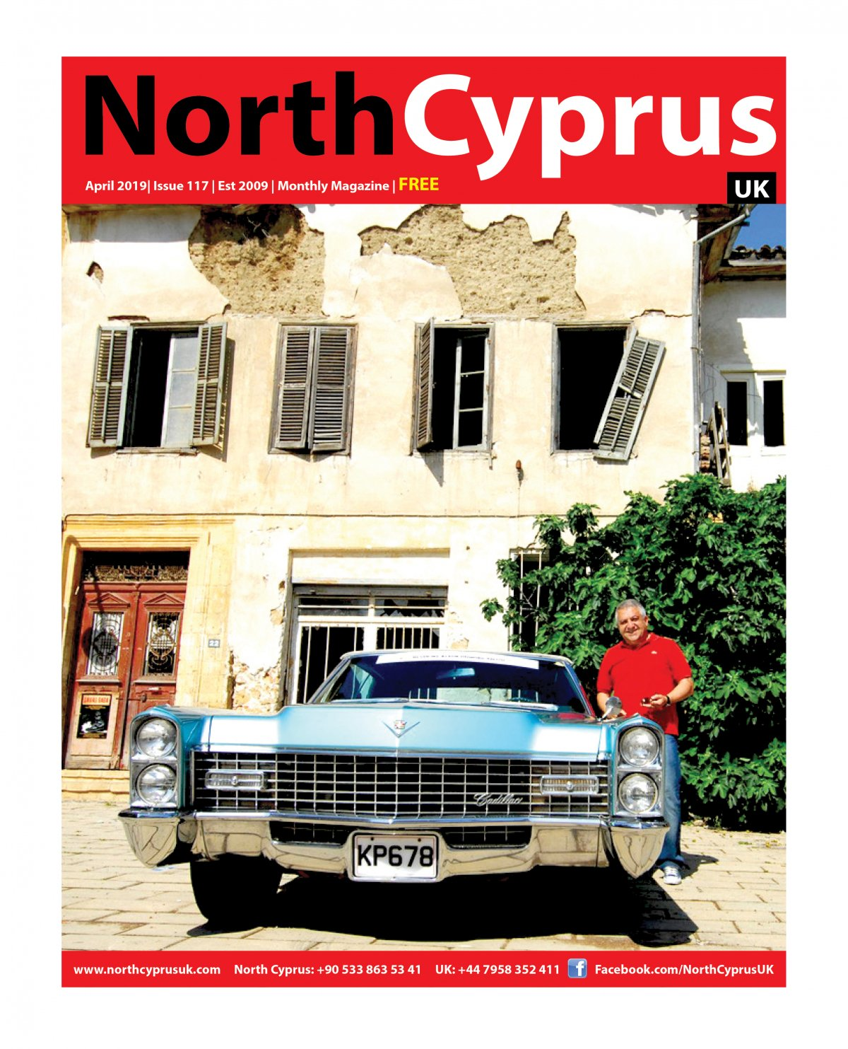 North Cyprus UK - 11.04.2019 Manşeti