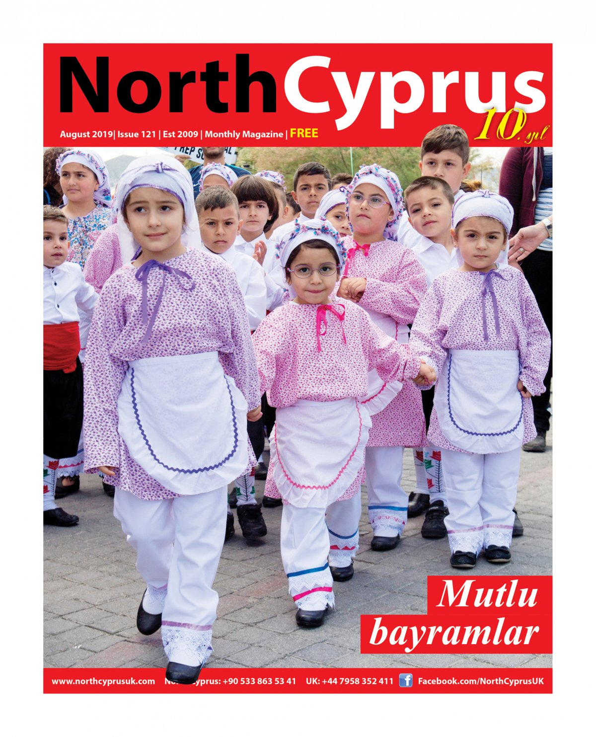 North Cyprus UK - 09.08.2019 Manşeti
