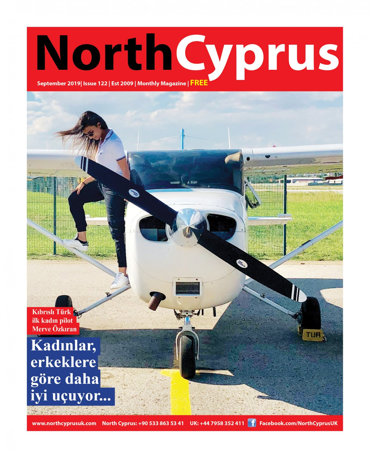 North Cyprus UK - 09.09.2019 Manşeti