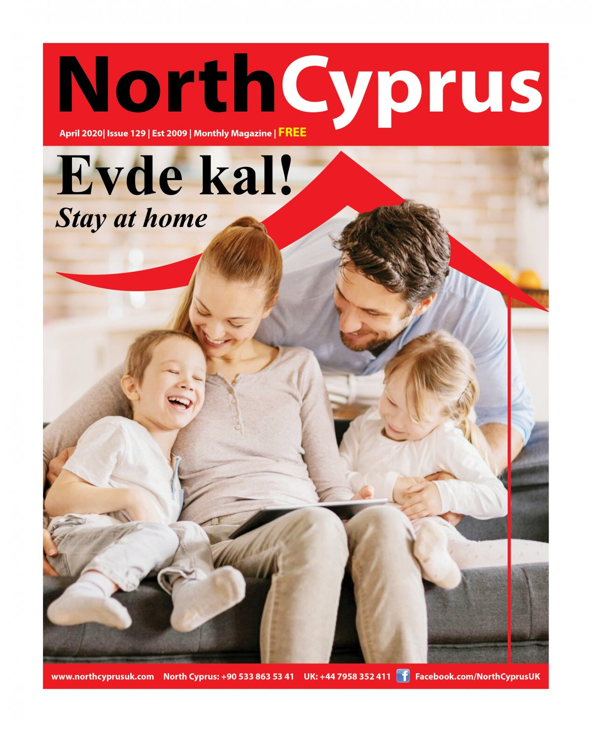 North Cyprus UK - 14.04.2020 Manşeti