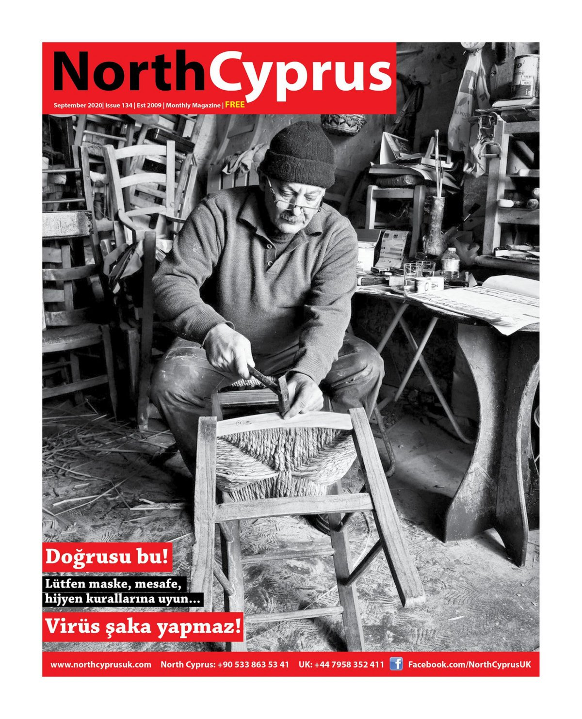 North Cyprus UK - 11.09.2020 Manşeti