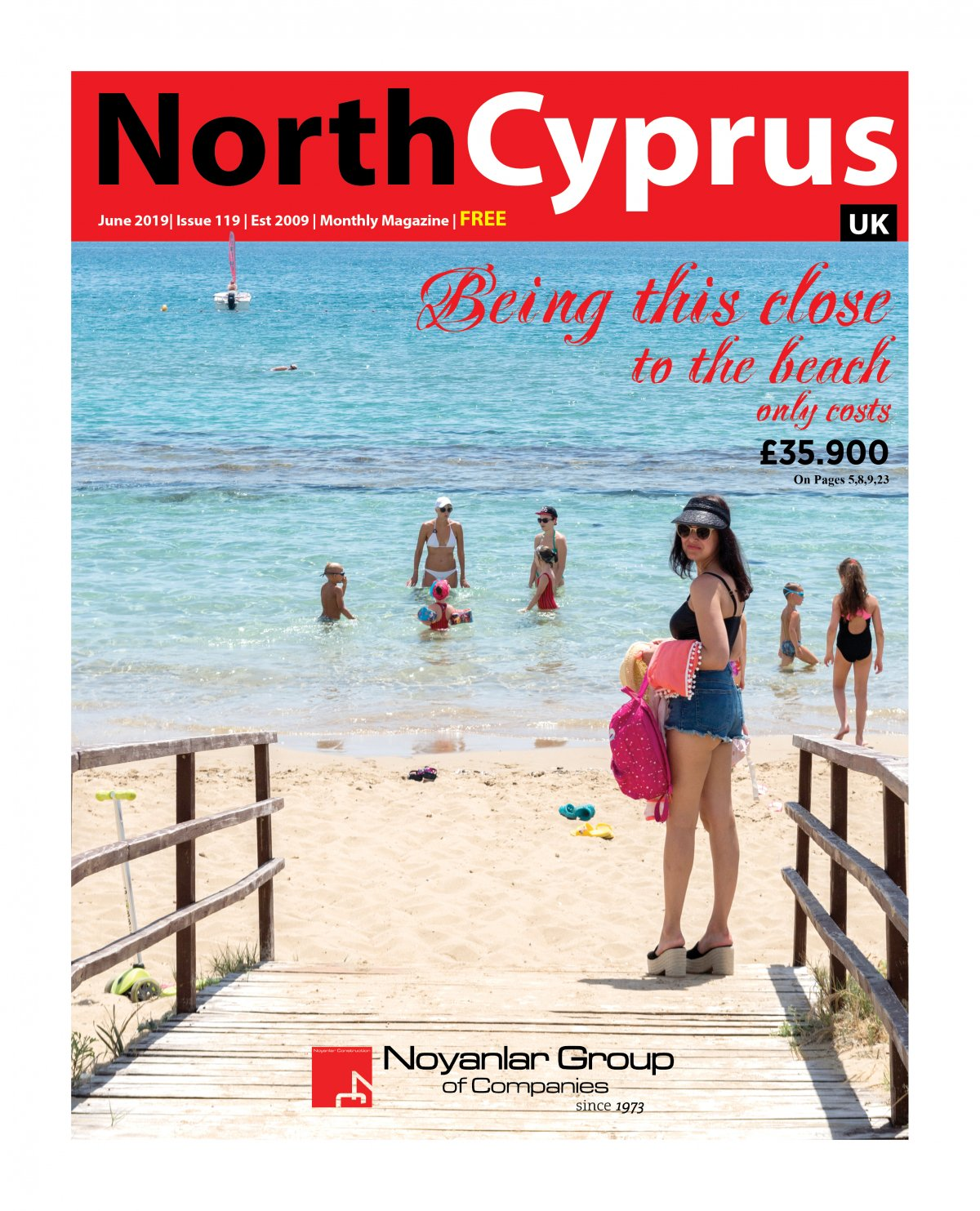 North Cyprus UK - 12.06.2019 Manşeti